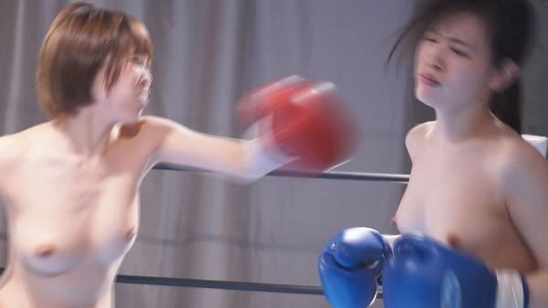 今井まいボクシング